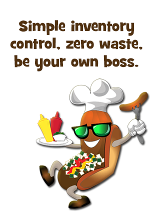 Simple inventory control, zero waste, be your own boss.