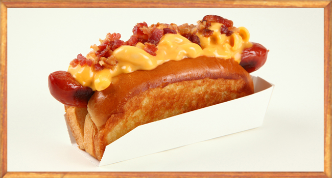 Mac & Cheese Dog